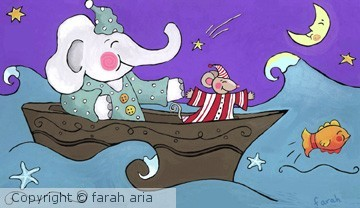 Sea of Dreams by Farah Aria