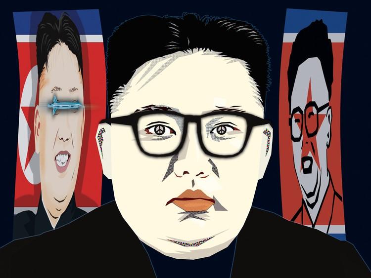 Kim Jong-Un by Daniel Morgenstern
