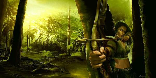 SAGA Promotional Art:  Elf