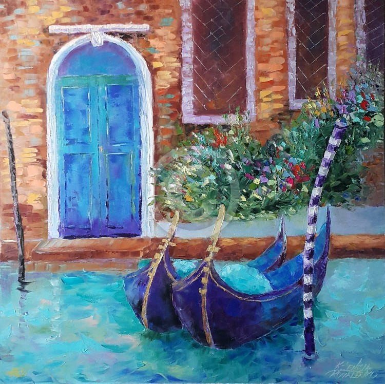 painting *Charming Venice*