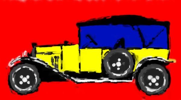 cars own citroen type A torpedo