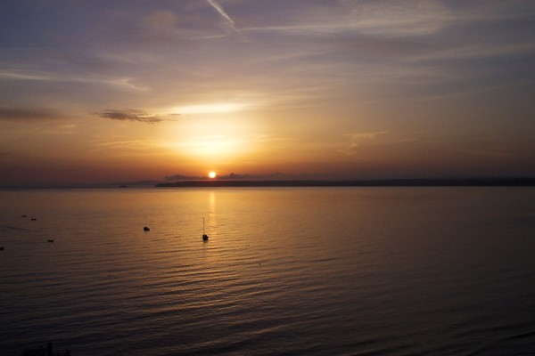 CORNISH SUNSET (Scanned 35mm Neg)