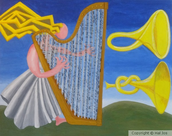 One Harp, Two Trumpets
