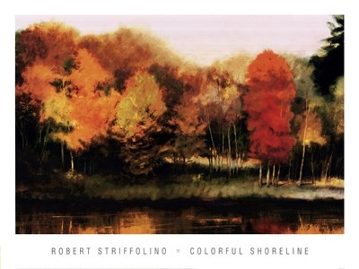 Robert Striffolino- Colorful Shoreline 27