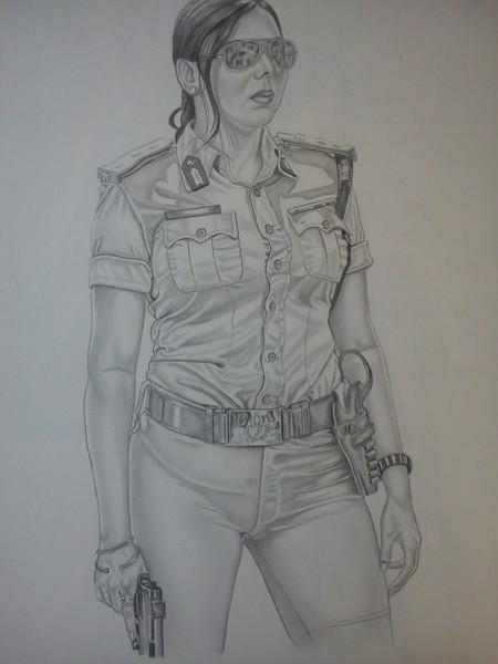 Israeli military woman
