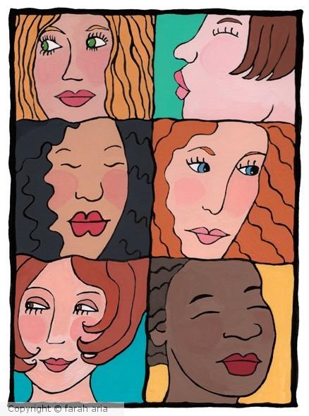 Beautiful Women by Farah Aria