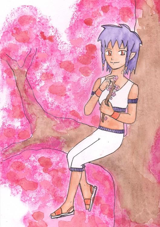 Kany in a tree
