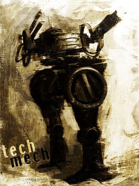 Tech Mech Rust