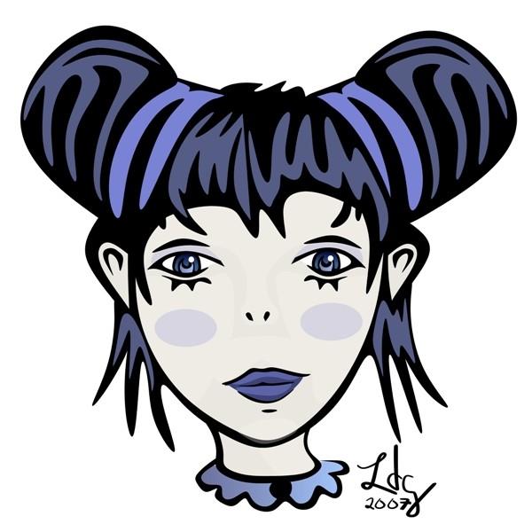 Goth Girl (Wip)