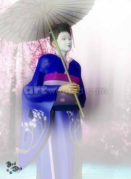 A Geisha's Smile