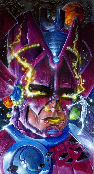 Galactus and his Herald