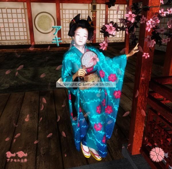 Aki The Japanese Beauty