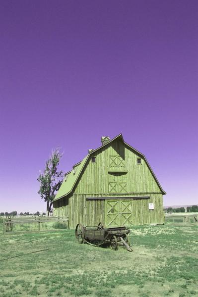 Wyoming Barn
