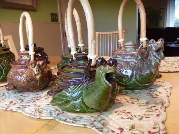 Turtle Teapots ~ 2