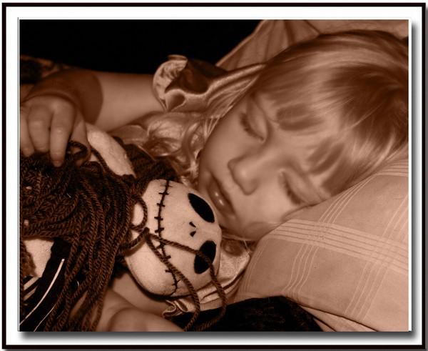 Thanksgiving Child Sleeps