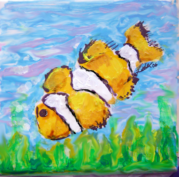 Fish on Tile