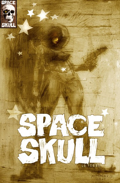 SPACE SKULL La femme Cover A