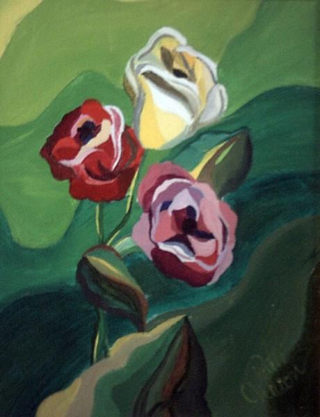 Cubist Rose