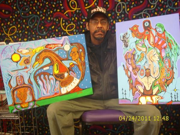 DEREK PAUL - Ojibway Artist - Anishnabe Artist