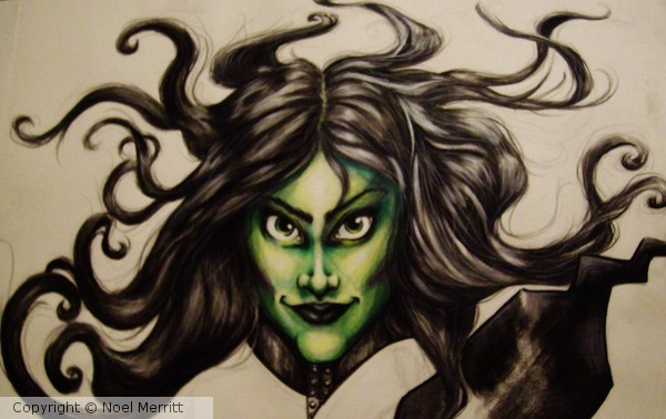 Unfinished-Wicked Witch