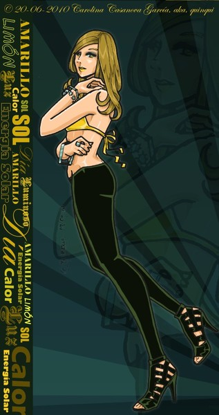 Arcoiris - Amarilla