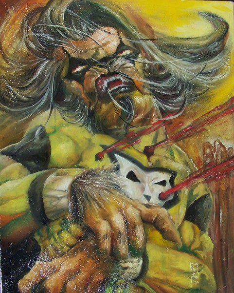 Death of Man Wolf