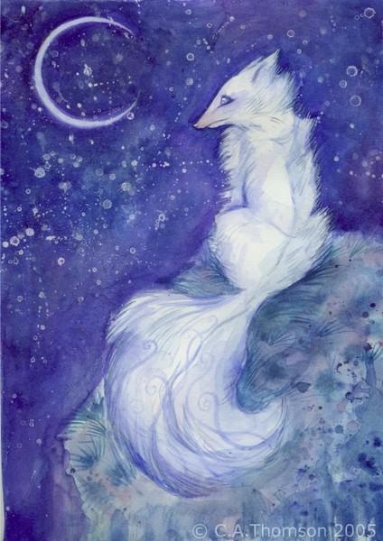 Lunar Kitsune
