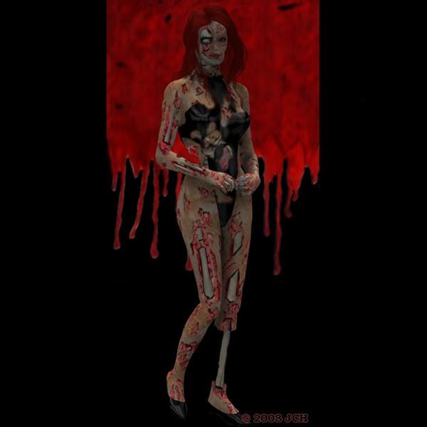 Zombie Tabby