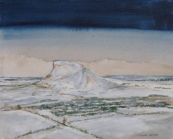 Roseberry Topping - Snow