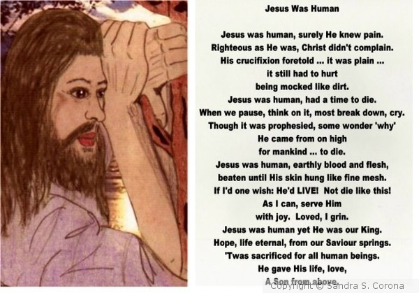 Jesus Was Human