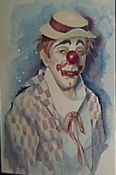 THE FIRST CLOWN by Jan Szabo