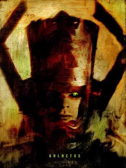 Portrait as Galactus