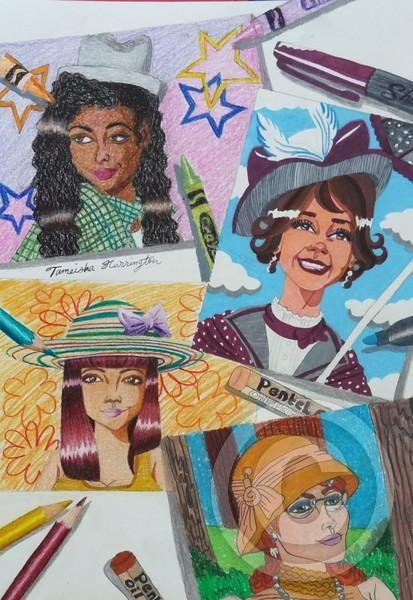 Ladies with Hats