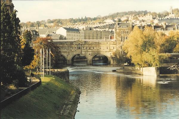 Avon River Bath, England