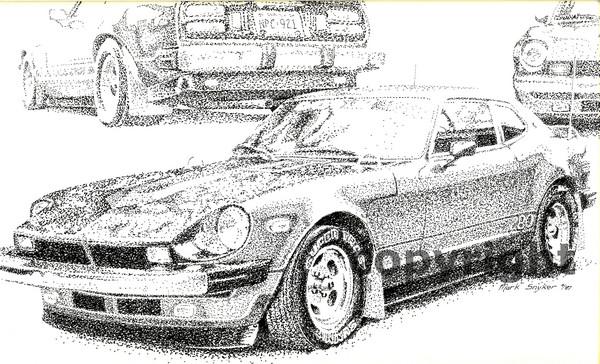 My Custom designed and built 280Z 1987