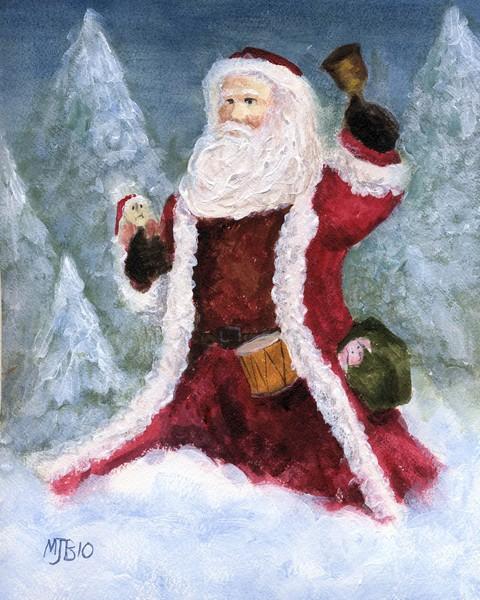 Woodlands Santa