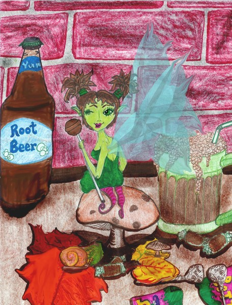 Ruby the rootbeer fairy