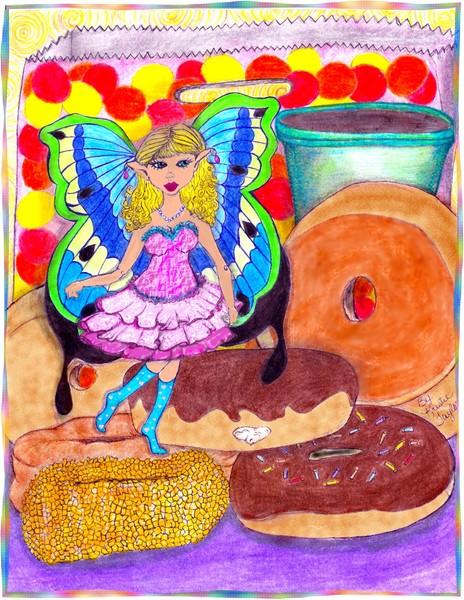 Doughnut fairy