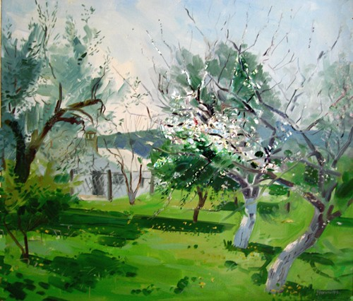 Spring in the Orchard