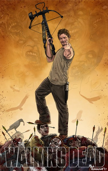 Daryl Dixon- Super bad Ass!