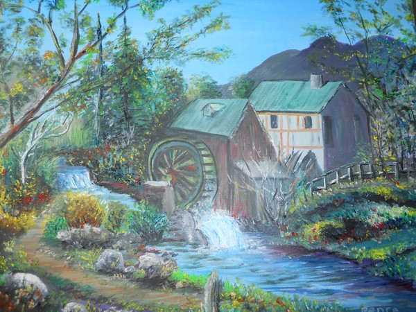 Colorful German Mill