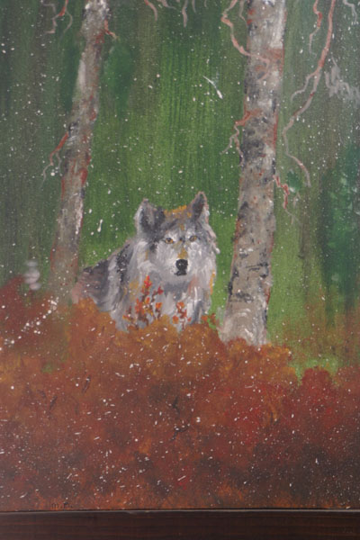 wolf painting 005