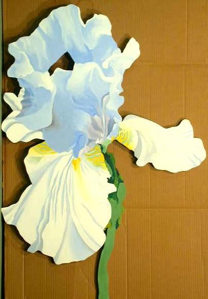 (Cut-out) Blue Iris