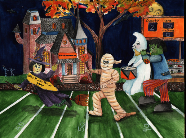 Halloween Halftime