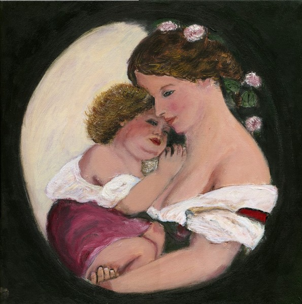 Copy of Karoly Brocky's Mother and Babe