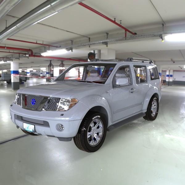 SUV in a Garage