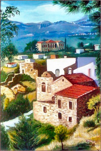 village at Chios
