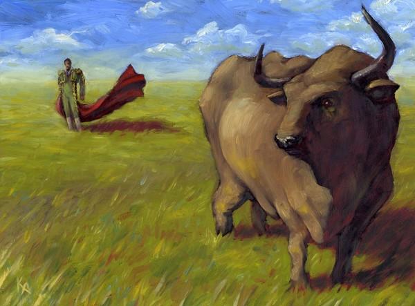 bull vs. matador