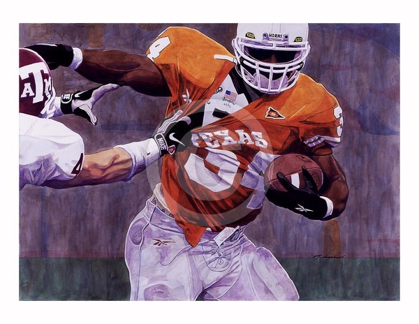 Ricky Williams Texas Longhorns