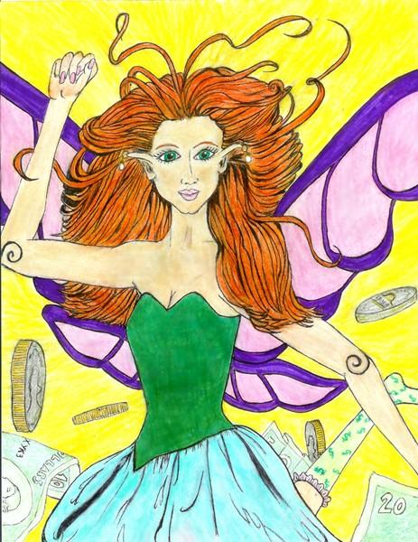 Mona, The found money fairy